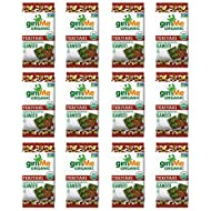 gimMe Organic Roasted Seaweed - Teriyaki - Source of Vitamin C, Iodine, Omega 3's - 12 Count - Keto, Vegan, Gluten Free - Healthy On-The-Go Snack for Kids & Adults