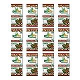 gimMe Snacks Organic Premium Roasted Seaweed, Teriyaki, Gluten-Free & Non-GMO, 0.17 Ounce (5 g) - (Pack of 12)
