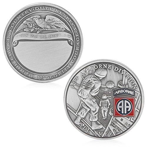 happinter Challenge Coin - 82nd Airborne