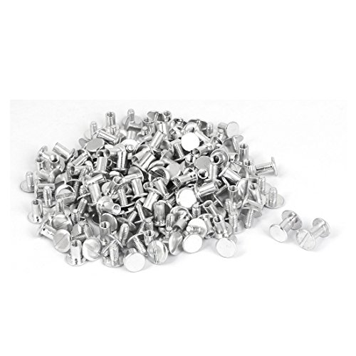 Uxcell a16053100ux0369 Scrapbooks Catalogs M5 x 8mm Aluminum Binding Chicago Screws Posts by uxcell (Image #3)