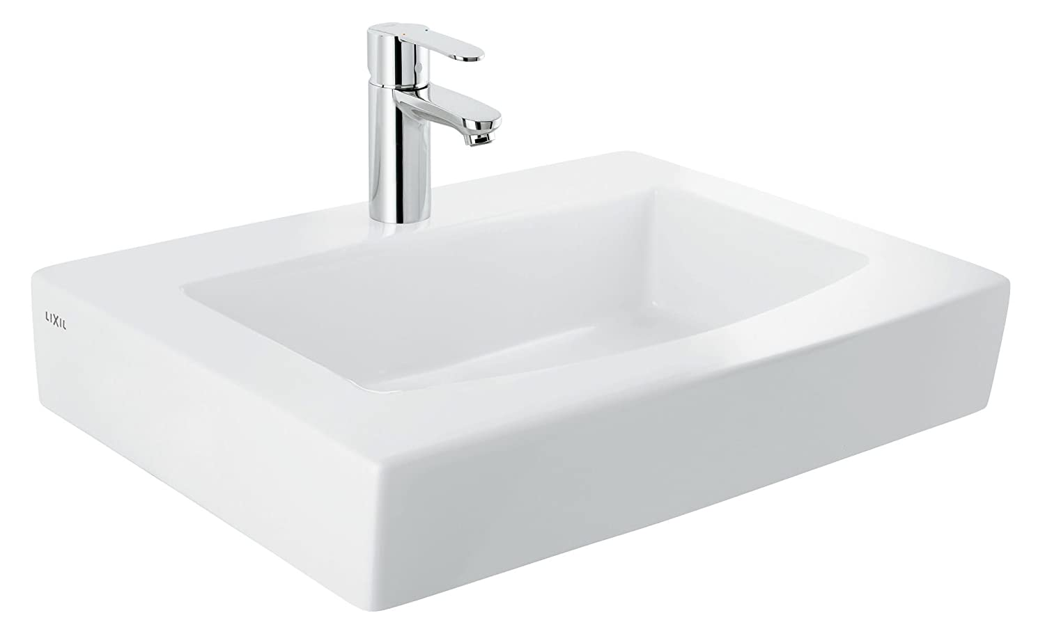 Grohe Keramik Markenset All Inclusive Waschtisch Square 37438000