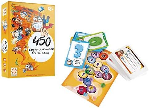 Mercurio 450 Cosas Que Hacer en tu Vida - Juego de Mesa en Castellano: Amazon.es: Juguetes y juegos