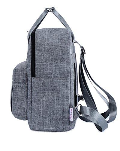 Zaino Cute Bag Classic 14 D105S grigio Diaper mamma litri Basic Bestie per HotStyle twYqF4x