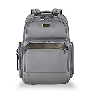 upc 789311001066 product image for Briggs & Riley @work Large Cargo Backpack, Gray | barcodespider.com