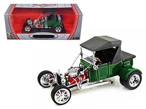 Road Signature 92829 1923 Ford T-Bucket Soft Top Green 1/18 Diecast Model Car