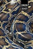 "Snake Reptile Week Planner Weekly Organizer Calendar 2020 / 2021 - Burmese Python Skin: Cute Wildlife Animal Pet Bullet Journal Notebook Diary in 6"" x 9"" Inch Pocket Size"