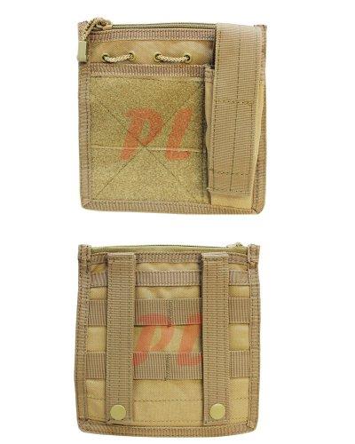 Condor MA30 Admin Pouch w/ Flashlight pouch - Coyote (Coyote Tan Pouch)