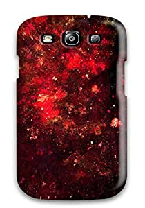 3977994K77731968 New Abstract Red Tpu Skin Case Compatible With Galaxy S3
