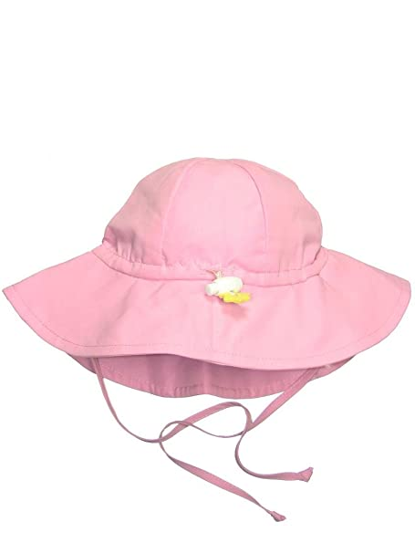 da1c4e9f0e2 Image Unavailable. Image not available for. Color  Iplay Baby Infant  Toddler Unisex UPF 50 Solid Brim Sun Hat ...