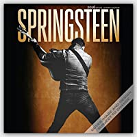Bruce Springsteen 2016 Square 12x12  Wall Calendar