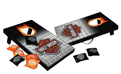 Harley-Davidson Mini Bean Bag for Indoor/Outdoor Use