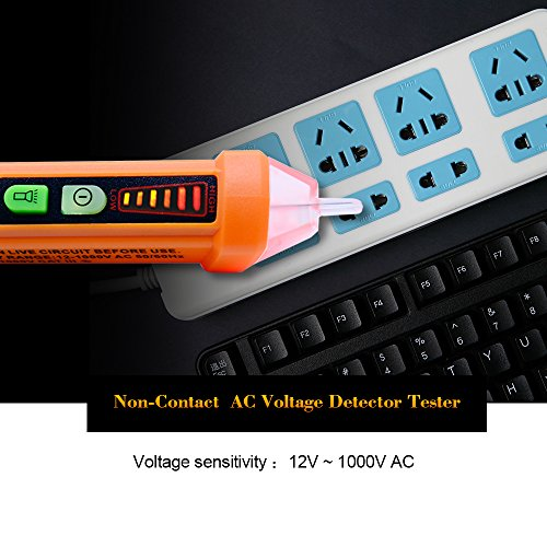 Ac Voltage Detector 90v To 1000v Electrical Live Circuit Tester Pen