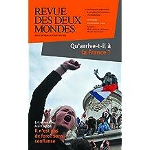 Revue des Deux Mondes octobre-novembre 2014: Qu'arrive-t-il à la France ?