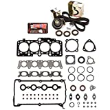 Evergreen HSTBK9018 Head Gasket Set Timing Belt Kit 01-06 Audi A4 Quattro VW Passat 1.8 AWM, AMB