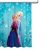 Disney Frozen Elsa and Anna Fabric Shower Curtain
