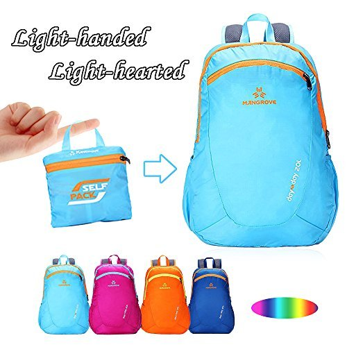 MANGROVE Day N Day Ultralight Backpack 20L Sky Blue MJ10260020391SKY
