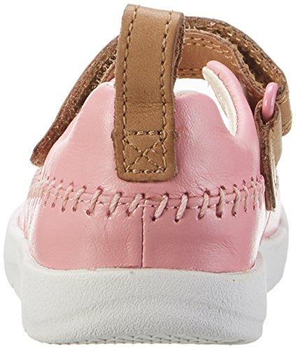 Clarks Tri Atlas Fst, Botines de Senderismo para Bebés Rosa (Vintage Pink)
