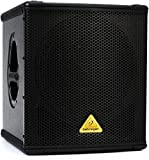 BEHRINGER B1200D-PRO High-Performance Active 500-Watt 12' Pa Subwoofer with Built- in Stereo Crossover, Black