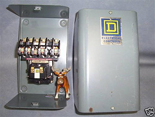 Square D Lighting Contactor LO-30 LO30 8903