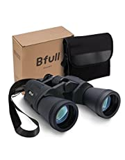 Bfull High Power 12x50 Binoculars,Compact Folding,Bird Watching Binoculars,Binoculars with Super Clear,Waterproof,Perfect for Outdoor Hunting etc,Suit for Adults and Teenagers