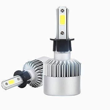 Diesel Auto Zone H3 Led bombillas para faros delanteros Kit de conversión 80W 8000LM 6000K puro