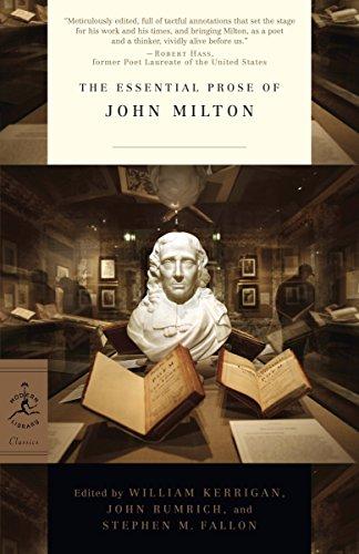The Essential Prose of John Milton (Modern Library Classics)