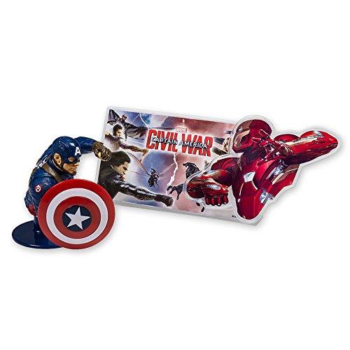 Captain+America Products : DecoPac Captain America: Civil War DecoSet Cake Topper