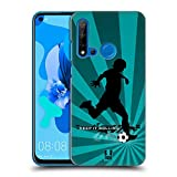Head Case Designs Soccer Extreme Sports Hard Back Case Compatible for Huawei P20 Lite (2019)