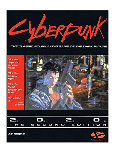 The Future never looked so bad. But you can change it. Because you`re CYBERPUNK. Cyberpunk: the original roleplaying game of the dark future; a world of corporate assassins, heavy-metal heroes and brain burning cyberhackers, packed with cutting edge ...