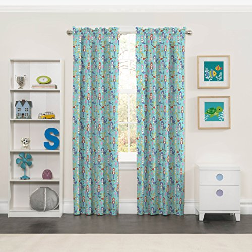 ECLIPSE Kids Curtains for Bedroom - Magical Mermaids 42