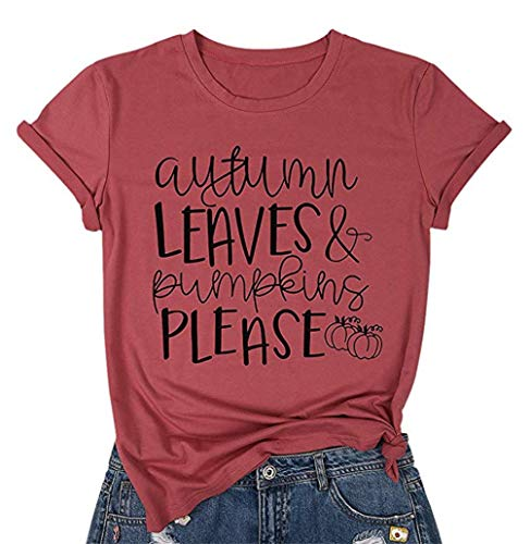 Where to find autumn leaves and pumpkins please shirt?