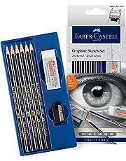 Faber-Castell GW114000 Goldfaber Sketch Set Grey