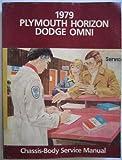 1979 Service Manual: Plymouth Horizon, Dodge Omni: Chassis-body Service Manual