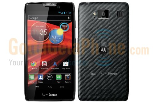 Motorola Droid RAZR HD 16GB XT926 Black - Verizon
