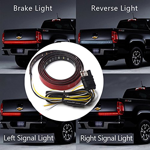 Winblink Tailgate Lights Waterproof Strip Led light Bar Dodge Ram GMC Ford Chevrolet Pickup SUV Jeep