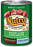 NUTRO Large Breed Adult Lamb and Rice Canned Dog Food, 12.5 oz. (Pack of 12)