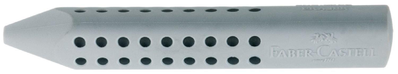 Faber-Castell 187100, Grip 2001 - Gomma per cancellare, Grigio