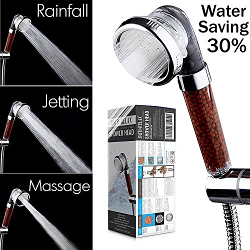 SD Healthy High Pressure Filter Water Ionizer ION SPA VITAMIN C Shower Head