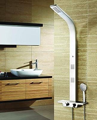 Columna de ducha hidromasaje acero inoxidable con 5 años de ...