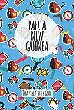 Papua New Guinea Travel Journal: 6x9 Travel planner I Road trip planner I Dot grid journal I Travel notebook I Travel diary I Pocket journal I Gift for Backpacker