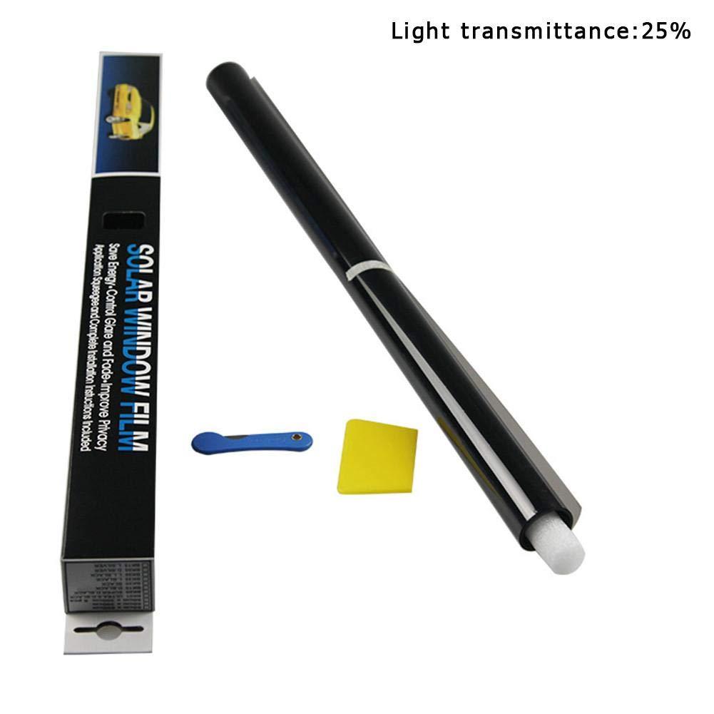 Sunronal 50 300CM Voiture fen/être Protection UV adh/ésif Teinte Film Soleil Ombre Wrap Autocollant pour Animal de Compagnie et Protection b/éb/é