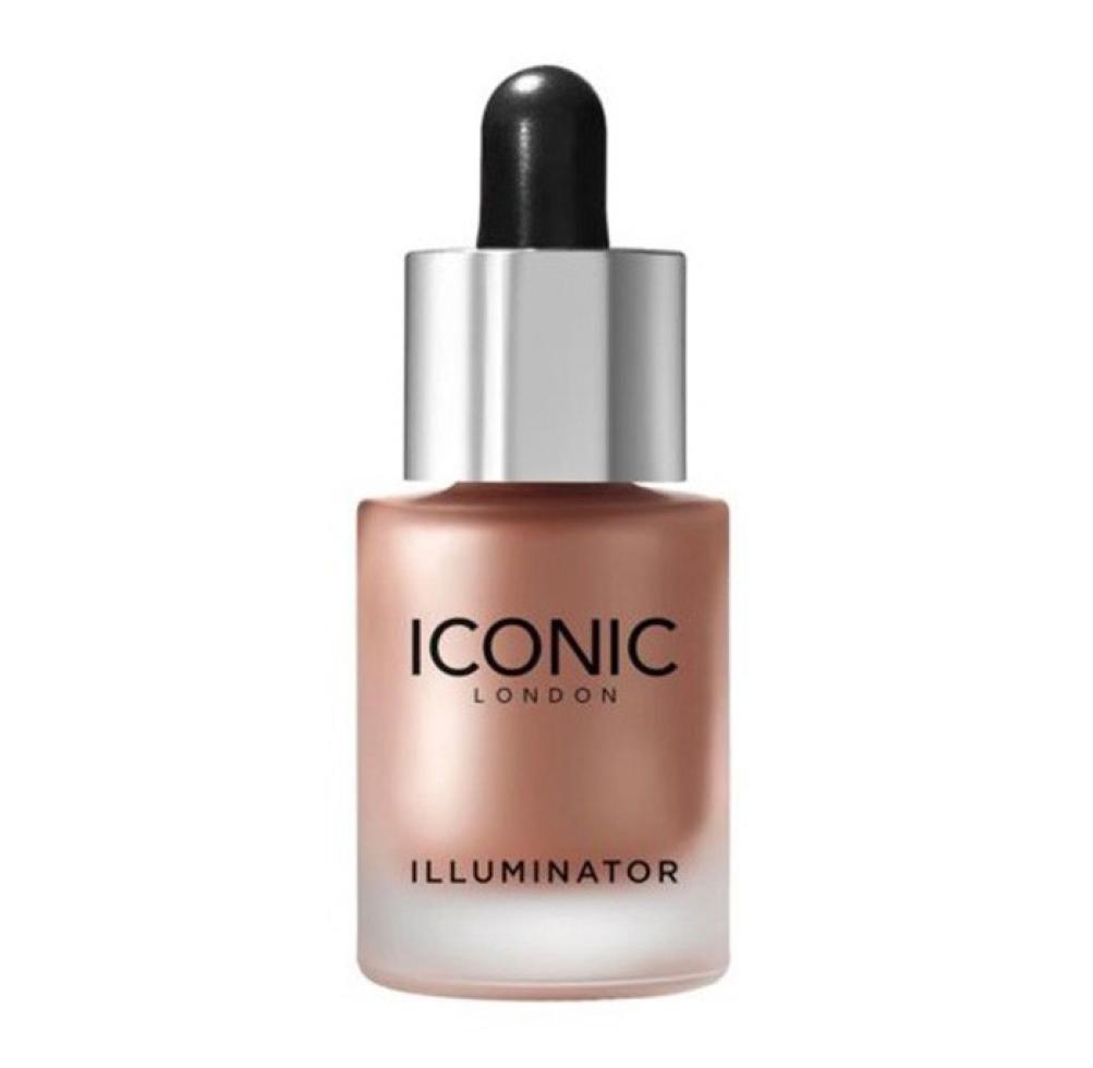 LCLrute NEUE Mode Frauen-reizvolle Schönheit Iconic-London-illuminator spiegelndes Pulver-Tropfen-Pro Flüssigkeit, die Glitter erhellen (B) LCLrute Glitter
