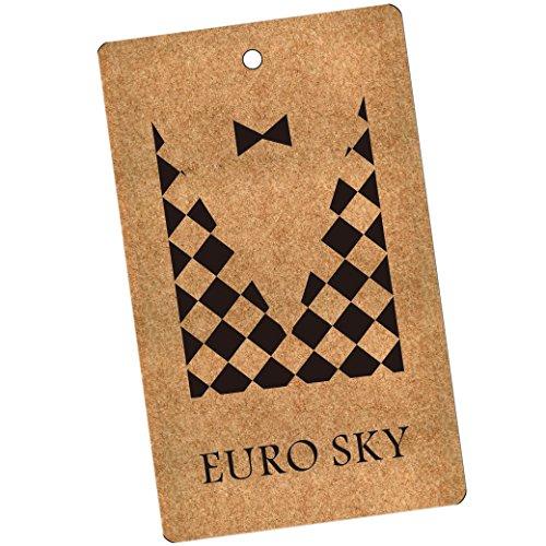 Euro Cielo Mens Estate Infradito Scarpe Sandali Da Spiaggia Indoor Outdoor Slipper Nero