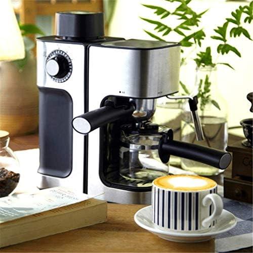 JYDQB Machine à café, Machine Expresso, Machine Expresso avec Fouets à Lait entièrement Automatique Goutte à Goutte Mini ménages café Pot de thé