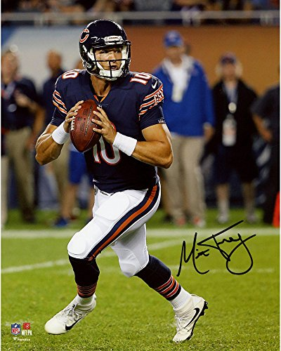 Mitchell Trubisky Chicago Bears Autographed 16