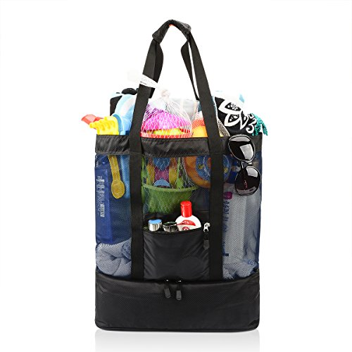 insulated cooler duffle bag - 6