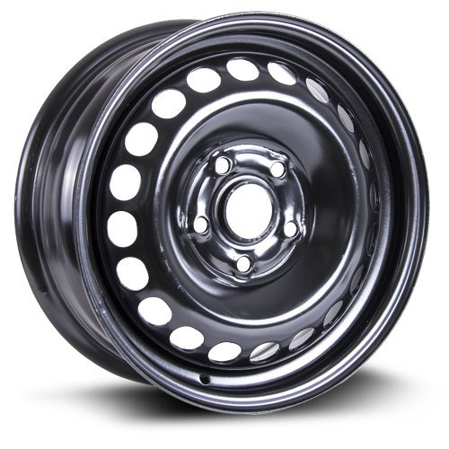 RTX, Steel Rim, New Aftermarket Wheel, 15X6, 5X112, 57.1, 47, black finish X99118N ()