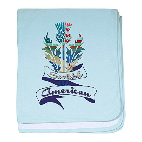 (CafePress - Scottish American Thistle - Baby Blanket, Super Soft Newborn Swaddle)
