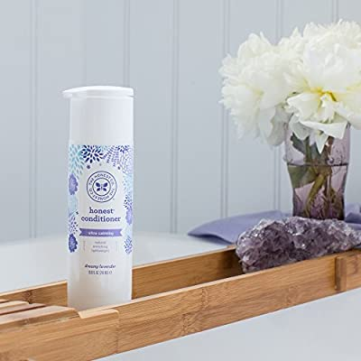 Honest Calming Lavender Hypoallergenic Conditioner with Naturally Derived Botanicals, Dreamy Lavender