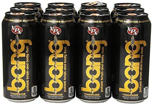 (VPX Bang Champagne Cola - 12 per Case - 16 fl oz (1 PT) 473 ml by VPX)